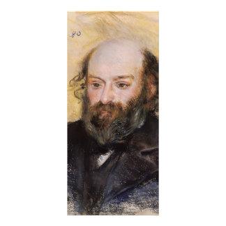 Pierre-Auguste Renoir- Paul Cezanne Full Color Rack Card