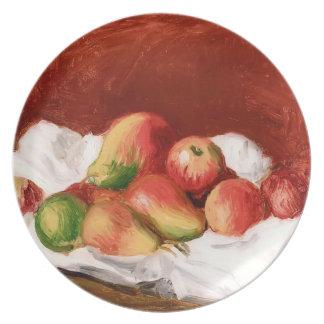 Pierre-Auguste Renoir- Pears and Apples Plate