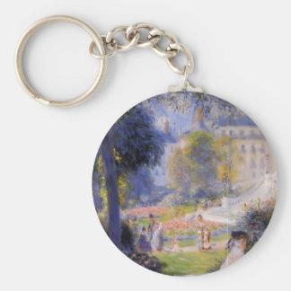 Pierre-Auguste Renoir- Place de la Trinite Key Chains