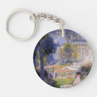 Pierre-Auguste Renoir- Place de la Trinite Acrylic Key Chains