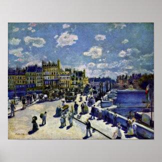Pierre-Auguste Renoir - Pont-Neuf Poster