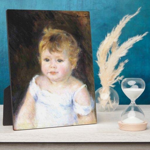 Pierre-Auguste Renoir- Portrait of an Infant Photo Plaque