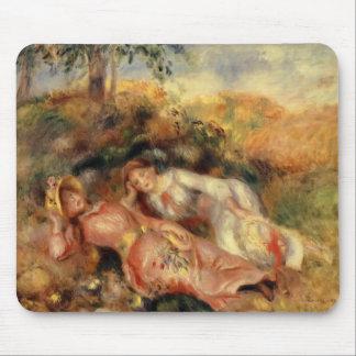 Pierre-Auguste Renoir- Reclining Women Mousepads