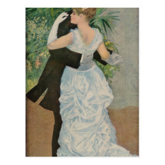 Pierre-Auguste Renoir s Dance in the Town 1883 Post Cards