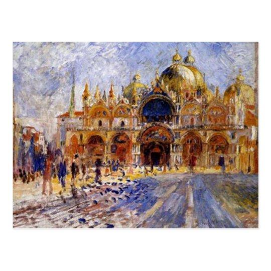 Pierre Auguste Renoir - San Marco Plaza Postcard