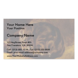 Pierre-Auguste Renoir- Sleeping Cat Double-Sided Standard Business Cards (Pack Of 100)