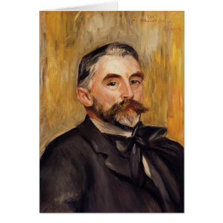 Pierre-Auguste Renoir- Stephane Mallarme Greeting Card
