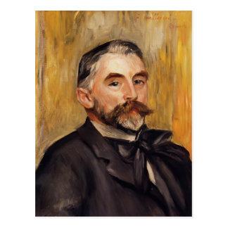 Pierre-Auguste Renoir- Stephane Mallarme Postcard