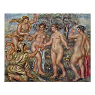 Pierre-Auguste Renoir - Steps in Algiers Print