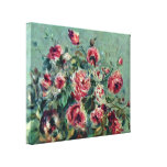 Pierre-Auguste Renoir - Still life of roses Gallery Wrapped Canvas