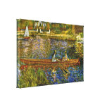 Pierre-Auguste Renoir - The Boat Stretched Canvas Print