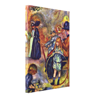 Pierre-Auguste Renoir - The Garden of Luxembourg Canvas Print