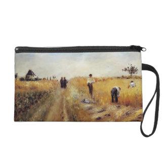 Pierre-Auguste Renoir- The Harvesters Wristlet Purse