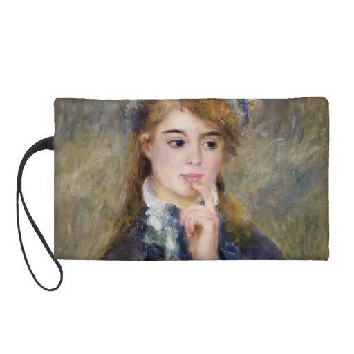 Pierre-Auguste Renoir- The Ingenue Wristlet Clutch
