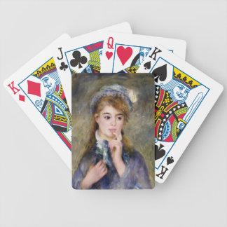 Pierre-Auguste Renoir- The Ingenue Poker Deck