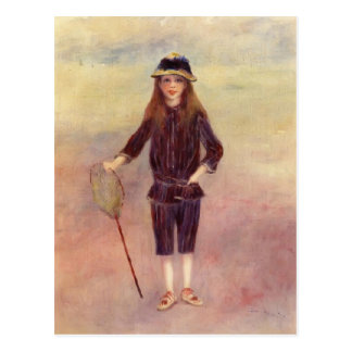 Pierre-Auguste Renoir- The Little Fishergirl Postcards
