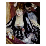 Pierre-Auguste Renoir - The Lodge Poster