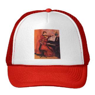 Pierre-Auguste Renoir- The Piano Lesson Trucker Hat