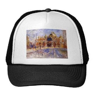 Pierre-Auguste Renoir- The Piazza San Marco Trucker Hat