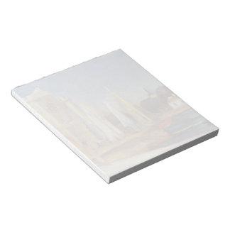 Pierre-Auguste Renoir- The Port of Rochelle Memo Notepads