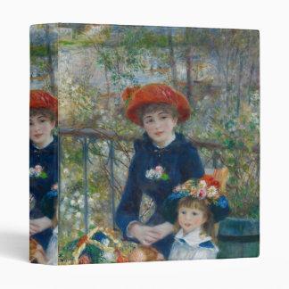 Pierre-Auguste Renoir - Two Sisters Binder