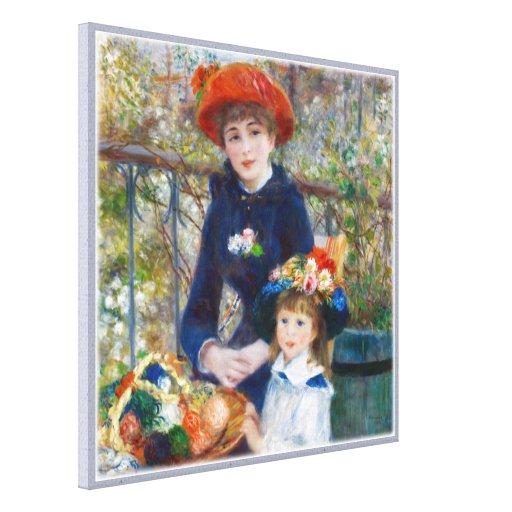 Pierre-Auguste Renoir Two sisters CC0401 Canvas