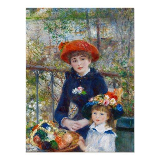 Pierre-Auguste Renoir Two sisters CC0524