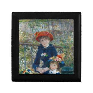 Pierre-Auguste Renoir - Two Sisters Jewelry Box