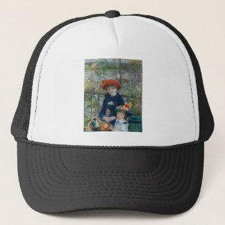 Pierre-Auguste Renoir - Two Sisters Trucker Hat