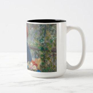 Pierre-Auguste Renoir - Two Sisters Two-Tone Coffee Mug