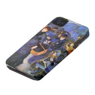 Pierre-Auguste Renoir- Umbrellas iPhone 4 Case