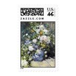 Pierre-Auguste Renoir,  Vase of flowers Postage