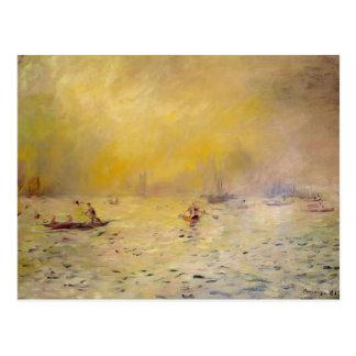 Pierre-Auguste Renoir- View of Venice, Fog Postcard