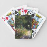 Pierre-Auguste Renoir- Woman at the Garden Poker Deck