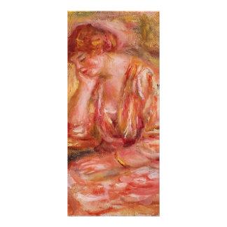 Pierre-Auguste Renoir- Woman Leaning on Her Elbow Rack Card