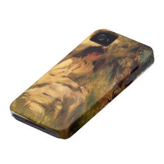 Pierre-Auguste Renoir- Woman with a Parasol iPhone 4 Case-Mate Case