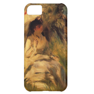 Pierre-Auguste Renoir- Woman with a Parasol Cover For iPhone 5C