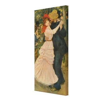 Pierre-Auguste Renoir's Dance at Bougival (1883) Canvas Print