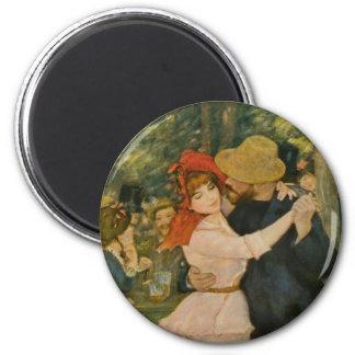 Pierre-Auguste Renoir's Dance at Bougival (1883) Magnet