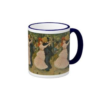 Pierre-Auguste Renoir's Dance at Bougival (1883) Coffee Mug