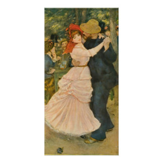 Pierre-Auguste Renoir's Dance at Bougival (1883) Photo Cards