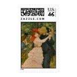 Pierre-Auguste Renoir's Dance at Bougival (1883) Stamp