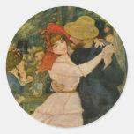 Pierre-Auguste Renoir's Dance at Bougival (1883) Stickers