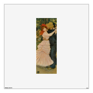 Pierre-Auguste Renoir's Dance at Bougival (1883) Wall Sticker