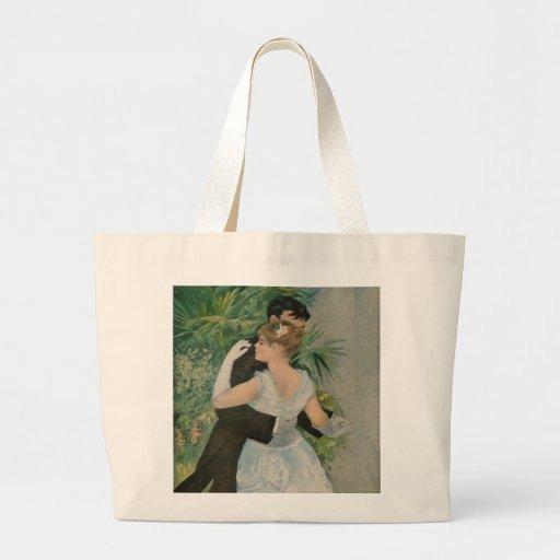 Pierre-Auguste Renoir's Dance in the Town (1883) Tote Bag