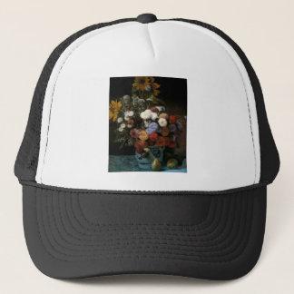 Pierre-Auguste Renoir's Flowers in a Vase (1869) Trucker Hat
