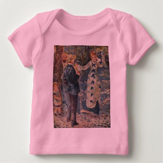 Pierre-Auguste Renoir's The Swing (1876) Baby T-Shirt