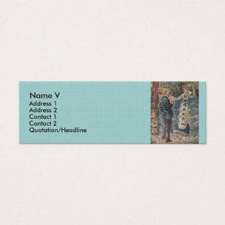 Pierre-Auguste Renoir's The Swing (1876) Mini Business Card