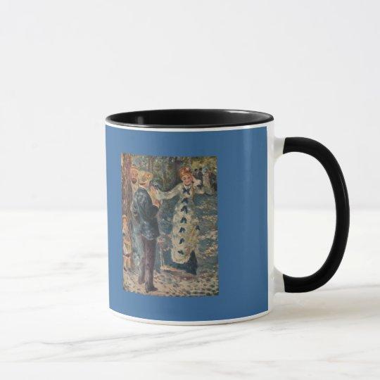 Pierre-Auguste Renoir's The Swing (1876) Mug