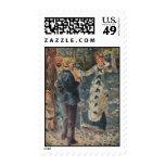 Pierre-Auguste Renoir's The Swing (1876) Stamps